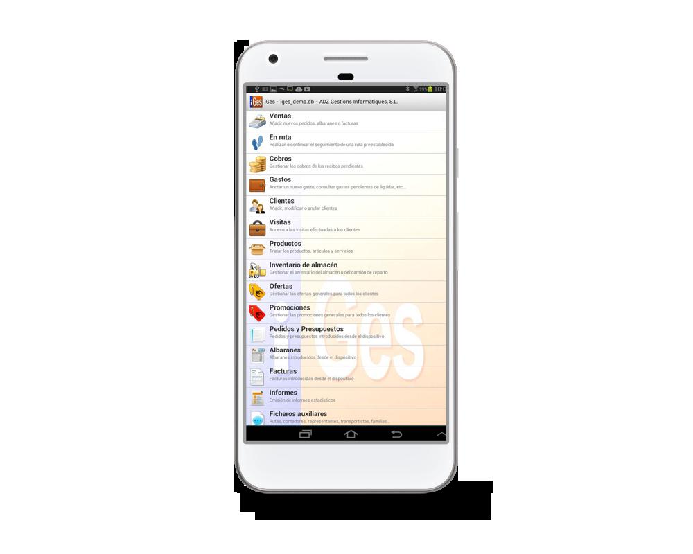 Aplicaciones para móvil CONTAMICRO